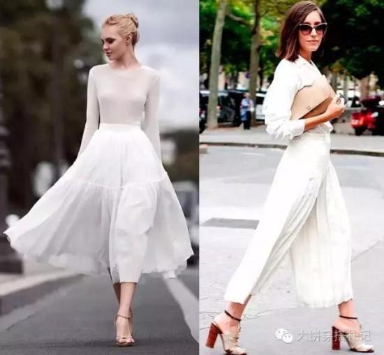 All white才是大时尚,随意都好穿的魅力你尝试过了吗 - Modish饼 - Modish饼s STYLE BLOG