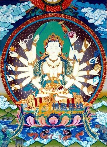 准提佛母(Maha Cundi Bodhisattva)准提佛母(梵名Dorje Tsundi)