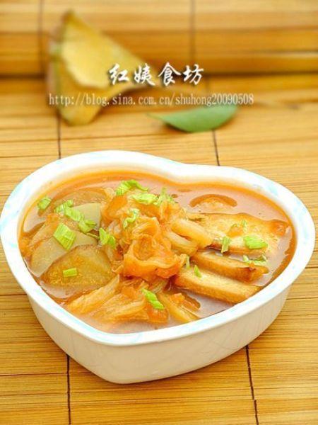 冬日蕃茄蔬菜暖身汤