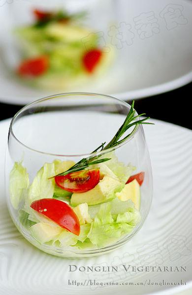 酪梨生菜沙拉