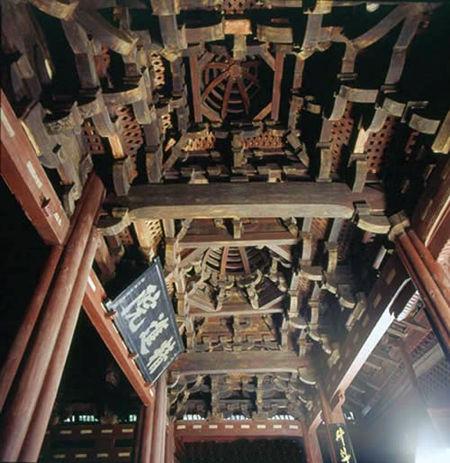 宁波保国寺木结构大殿建成千年纪