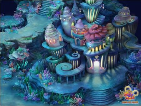海底宫殿图片