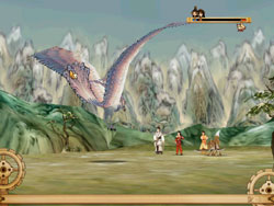 《苍之涛》战斗画面