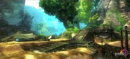 《剑3》的画面无疑是一流的