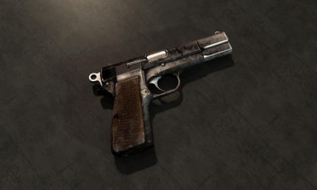《辐射:新维加斯》手枪