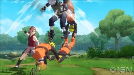 E3 2010《火影忍者:终极忍者风暴》 游戏图集