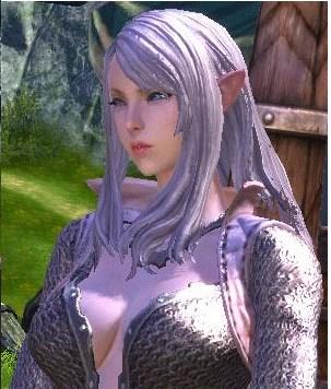 高等精灵tera精灵美女tera