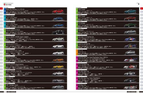 初回版画册中也将收录赛道及车辆的索引