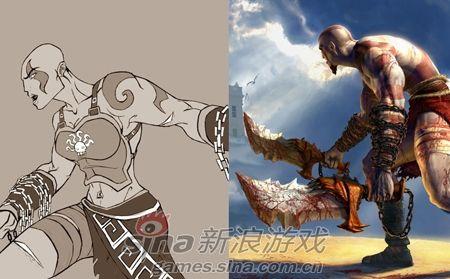游戏圈最爷们的男人被娘化之后依旧很MAN!可见奎爷的MAN是来自于骨子里的。