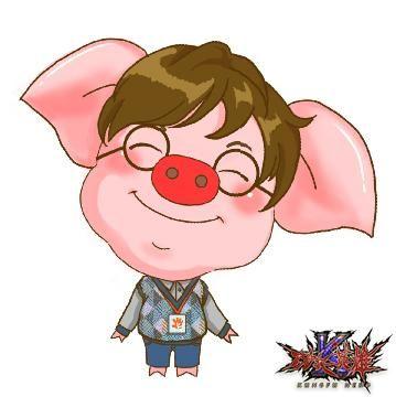 小猪q版可爱形象
