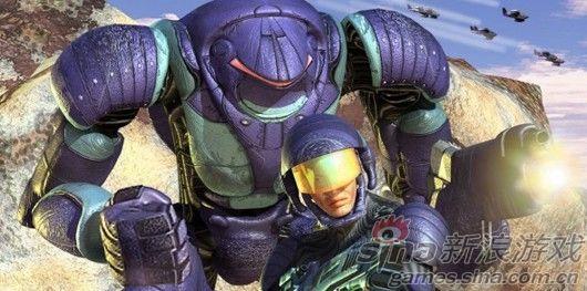 与机器人一同作战
