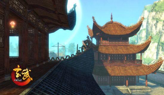 《玄武》建筑场景