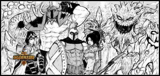 生动英雄素描手绘 黑白世界里的众生相   lol英雄联盟; 玩家手绘 幅