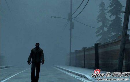 一个人走在无人的街