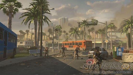 《洛杉矶之战》游戏截图