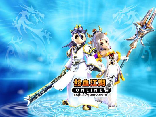 中华网游戏集团宣布成功续约《热血江湖》