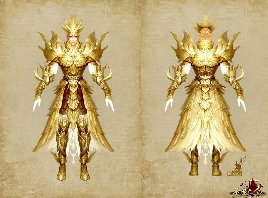相对于神兵沉重的金属盔甲