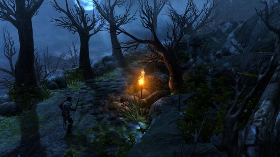 这是个漂亮游戏,对玩家而言,景深效果甚至让他们感到可见度被限制了