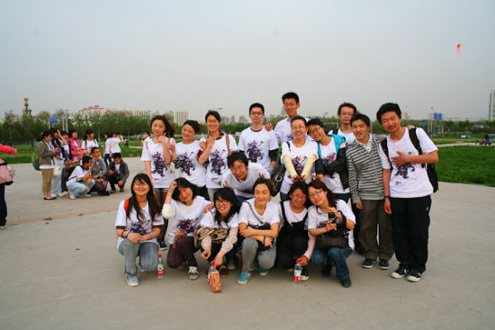 大学生团队合影图片