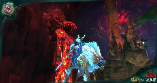 金锵派玄战和他的坐骑血鬃狼