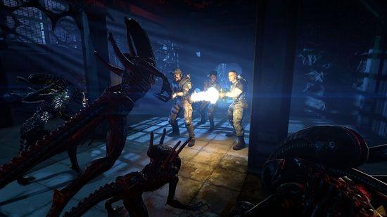 《异形:殖民军》游戏画面