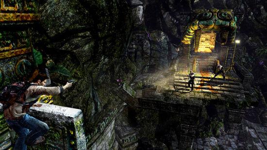 《神秘海域:金色深渊》游戏画面