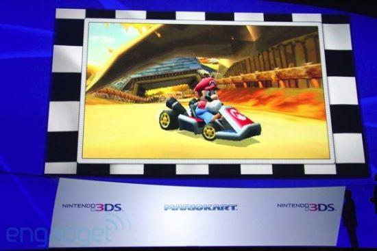 马里奥赛车3DS