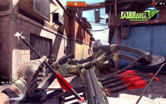《风暴战区》特色武器:弩