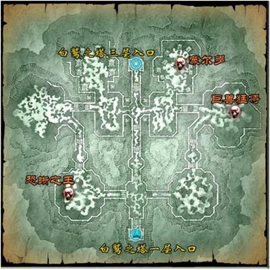 冒险场景地图