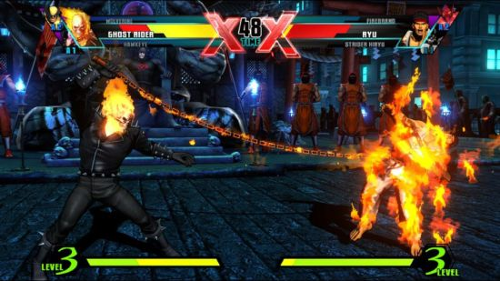 恶灵骑士(ghost rider)游戏画面图片