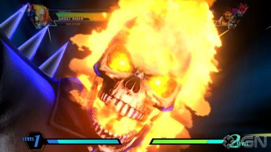 恶灵骑士(ghost rider)游戏画面