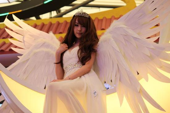 天使姐姐在召唤
