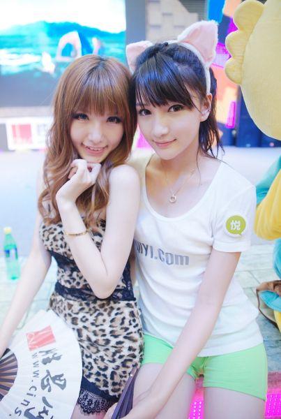 2011CJ最火爆的美女Twins