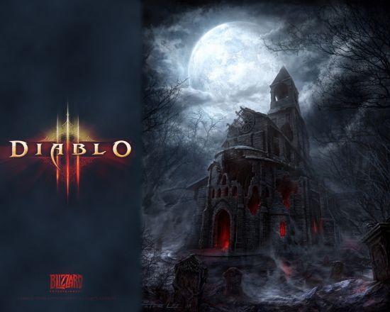 暗黑3游戏海报