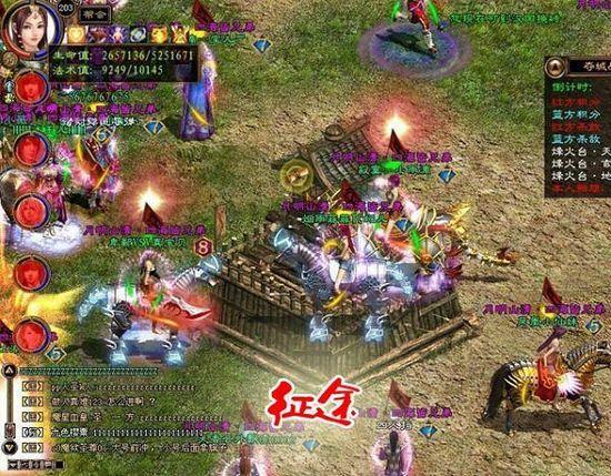 《征途》大型PK最火爆