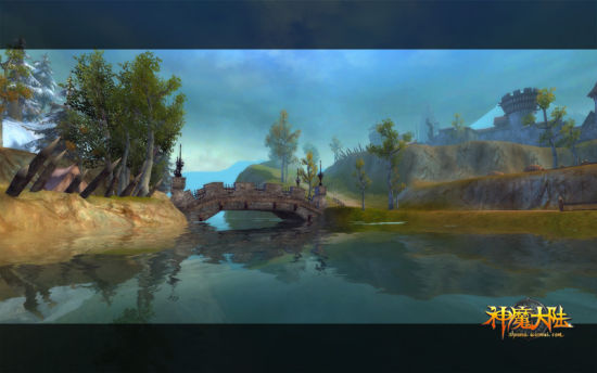 《神魔大陆》实景截图-绝世美景
