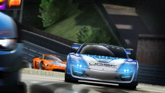 索尼PS Vita平台《山脊赛车》