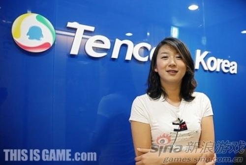 腾讯韩国网游分公司负责人朴社长