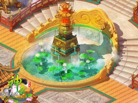 天宫一角:荷花池图片
