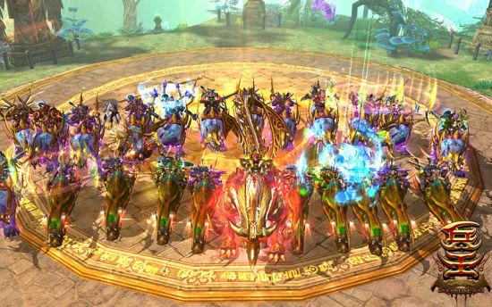 国王骑士团列队