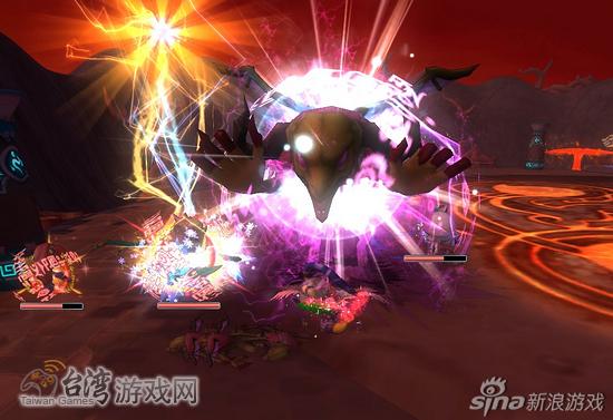 """在""""天焰火山口"""",周围除了恶魔就是敌人_台湾游戏网"""