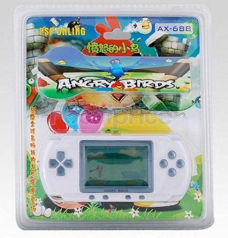 中国山寨《愤怒的小鸟》PSP游戏机