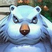 """""""我是刚刚从熊场逃出来的,好恐怖啊。"""""""