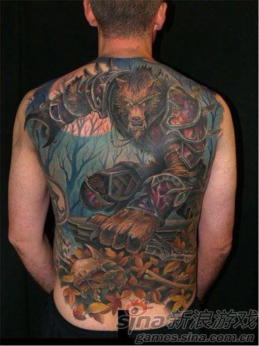 魔兽世界狼人纹身