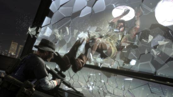 破窗而入解决射伤自己的可恶狙击手