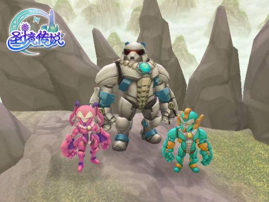 圣境传说熊猫人和萝莉两大新种族上线_网络游戏_新浪