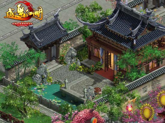 家园系统华丽的外观和休闲的娱乐功能,受到不少女性玩家的青睐