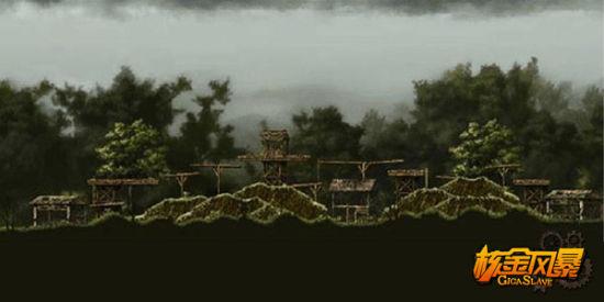 《核金风暴》――全新对战地图�I河密林S