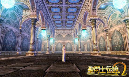 《圣斗士传说Ω》圣斗士传说希腊风格建筑