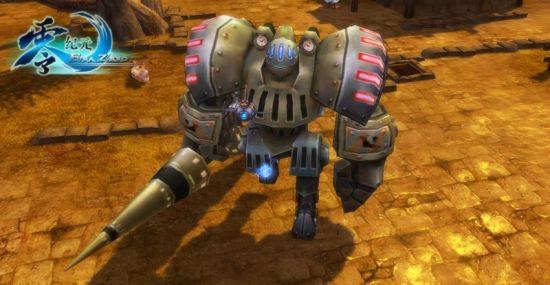特色玩法:玩家化身机器人图片